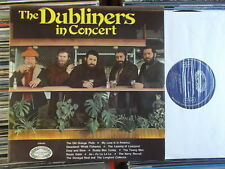 THE DUBLINERS  LP: IN CONCERT (UK; RE; Hallmark Records SHM 682 )