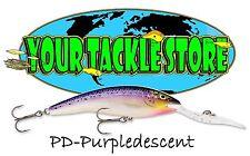 Rapala Deep Tail Dancer Tdd11 Fishing Lure 3/4oz / 22gm Various Colours Purpledescent