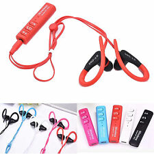 Wireless Bluetooth Headset Sport Headphone For Android IOS iPhone LG Samsung ZTE