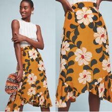 Anthropologie Eva Franco Ikebana Floral Skirt 0P
