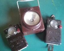 7 x Bakelit  Taschenlampen, z.T.Wehrmacht,30-40er Jahre,Zeiler,Stab/Signallampen