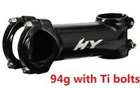 "Hylix Super/Ultra Light stem Road/Mountain bike 31.8mm/1-1/8""+Ti Bolts=94g"