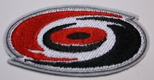 "Carolina Hurricanes Embroidered Patch~3 3/8"" x 1 7/8""~Iron Sew~NHL~Ships FREE"