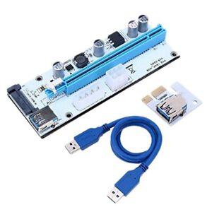 10 Pack Ver008S Riser Karte 1X Bis 16X Adapter Karte PCIE PCI-E PCI Express