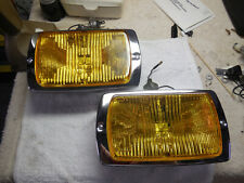 Cibie 175 genuine AMBER fog lamp pair, new, complete, working, w/bulbs & covers