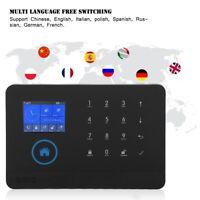 Wireless 3G/GSM+GPRS WiFi Video Alarm Smart Home Security Alarm System Kit Lot