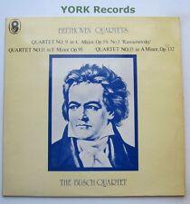 SHB 27 - BEETHOVEN - Quartets THE BUSCH QUARTET - Excellent Con Double LP Record