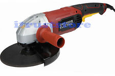 "HEAVY DUTY LARGE ELECTRIC ANGLE GRINDER METAL SLAG GRINDING WHEEL 9"" SIDE CUTTER"