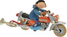 Gaston Lagaffe statuette de collection Gaston et sa moto Sapetoku 003054