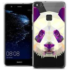 "Coque Housse Etui Pour Huawei P10 LITE (5.2"") Polygon Animal Souple Fin Panda"