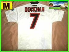 RARE Manchester United #7 BECKHAM Away Football Shirt M 1997 Charity Shield