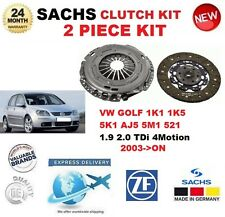 für VW Golf V VI Plus 1.9 2.0 TDI 16V 4motion 2003- > SACHS 2-tlg Kupplungssatz