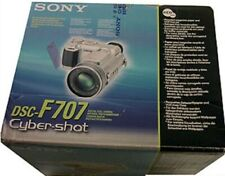 Sony Cybershot Dsc-f707 Digital Still Camera - USB Zeiss Rotating Lens Manual