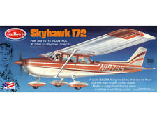 Flying Model Airplane Kit Cessna Skyhawk 172 Guillow's Balsa Wood GUI-802