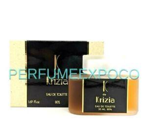 K de KRIZIA Perfume for Women 1.69oz / 50ml EDT Splash Rare Discontinued (BT10