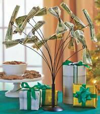 Money Tree Holder Gift Card Wedding Baby Shower Party Table Center Piece
