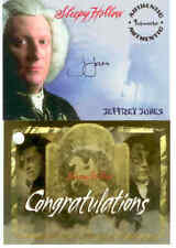 Tim Burton's Sleepy Hollow Trading Cards Signature Card: Jeffrey Jones