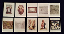 20th Century Art Set Of 10 Colorful Modern Stills and Abstract Postcards (NW/OT)