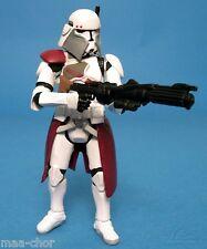 Star wars loose ROTS ultra rare commandant Baccarat dans Quick Draw attaque. C-10+