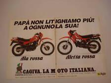 advertising Pubblicità 1983 CAGIVA ALA ROSSA 350/ALETTA