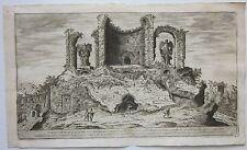 1575 VESTIGIJ CASTELLO DELL'ACQUA MARTIA Roma Etienne Duperac Ninfeo Alessandro