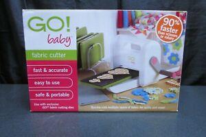NIB Accuquilt GO! Baby Fabric Cutter System