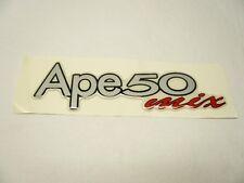 Aufkleber Piaggio APE MIX