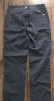 Kuhl Pants Vintage Patina Dye Charcoal Gray Women's Size 8 Reg Euc