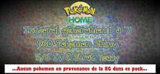 Pokemon Home pokedex complet / Épée et Bouclier : 960 pokemon shiny strat FR