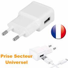5V Prise 1 port USB mural chargeur adaptateur secteur 2A pour iPhone Samsung lg