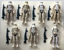 7 1980 Vintage Star Wars Hoth Snowtrooper Action Figures Complete Stormtroopers
