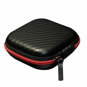 Cable Earphone Headphone Carry Storage Box Earbud Hard Case Portable Bag