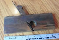"Wooden plane molding wood planer vintage tool antique primitive 3/4"""