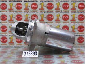 2008 2009 2010 HUMMER H3 3.7L ENGINE STARTER MOTOR 19168039 OEM