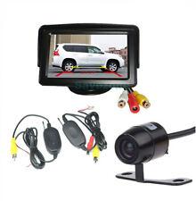 "CarRear ViewKit MiniWireless CCDReversingCamera170º+ 4.3"" TFT LCD Monitor"