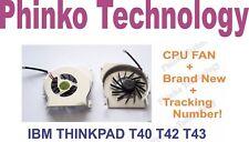 IBM THINKPAD Thinkpad T40 T41 T42 T43 T43P CPU FAN For Laptop **** Brand New **
