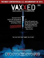 Vaxxed: From Cover-up To Catastrophe [New DVD] PAL Format