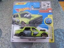 Hot Wheels 2017 #092/365 TIME ATTAXI green HW City Works