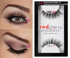 LOT 3 Pairs AUTHENTIC RED CHERRY Nude Onyx False Eyelashes Strip Lashes