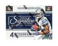 2016 DONRUSS SIGNATURE SERIES FOOTBALL RANDOM PLAYER 3 BOX BREAK 12 AUTOS #4