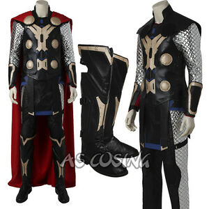 The Avengers Age of Ultron Thor Odinson Cosplay Costume Thor Costume Halloween