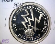1966 Pearl Harbor Sterling Silver Proof Medal National Commemorative Society