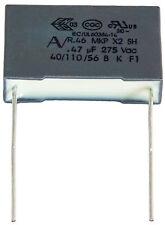 2 condensateurs MKP X2 220-230V 0,47µF 0.47µF 470nF 474K 474 K 275Vac 22,5mm uF