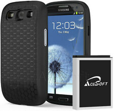 High Power 7570 mAh Extended Battery TPU Cover Case for Samsung Galaxy S III s3