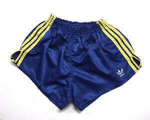 Adidas Sport Glanz Shorts Grösse 7 Vintage 70/80er shiny rar O855