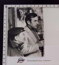 Photo DANIEL CECCALDI scéne Maigret/acteur/originale/argentique/photo presse