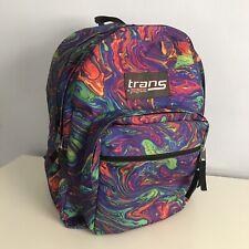 JANSPORT Trans Backpack Rainbow Acid Swirl