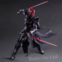 "Play Arts Kai Star Wars Darth Maul 10"" Action Figure Statue Model Toy New In Box"