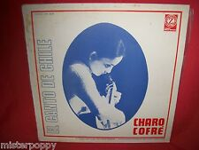 CHARO COFRE' El canto de Chile LP + Booklet ITALY 1975 MINT- Zodiaco
