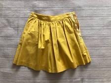 3.1 Phillip Lim Yellow High Waist Skort Shorts Sz 2